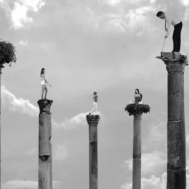 Život na kapitelima iz rada 'Stilitas'