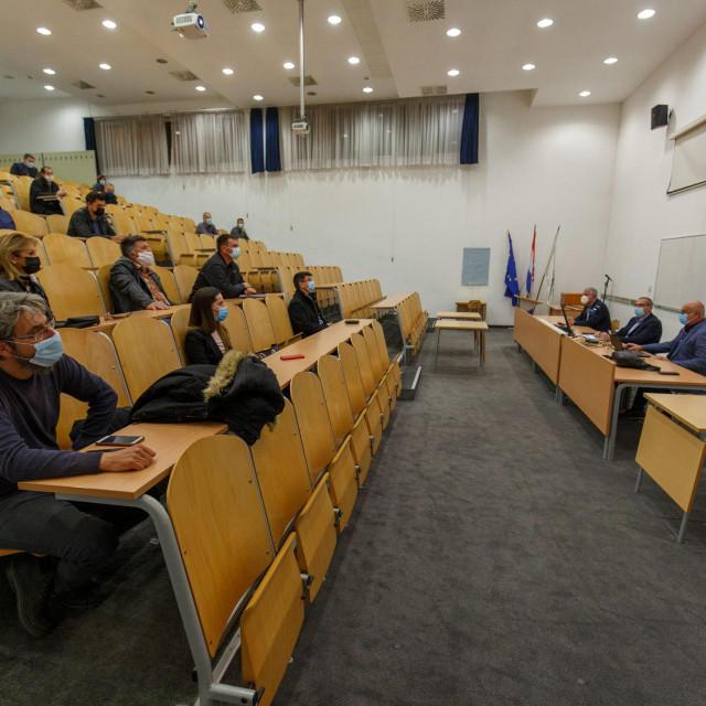 Izlaganje o Studiji utjecaja na okoliš održano je na Građevinskom fakultetu