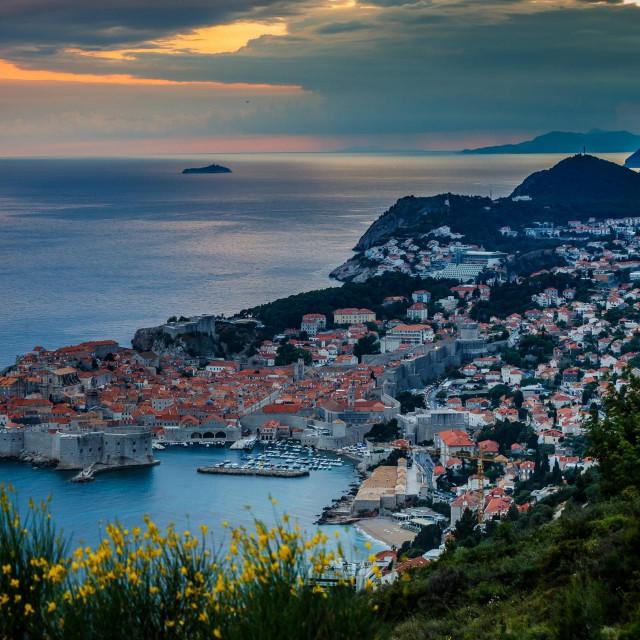 Dubrovnik, 300520.<br /> Suton nad Dubrovnikom.<br />