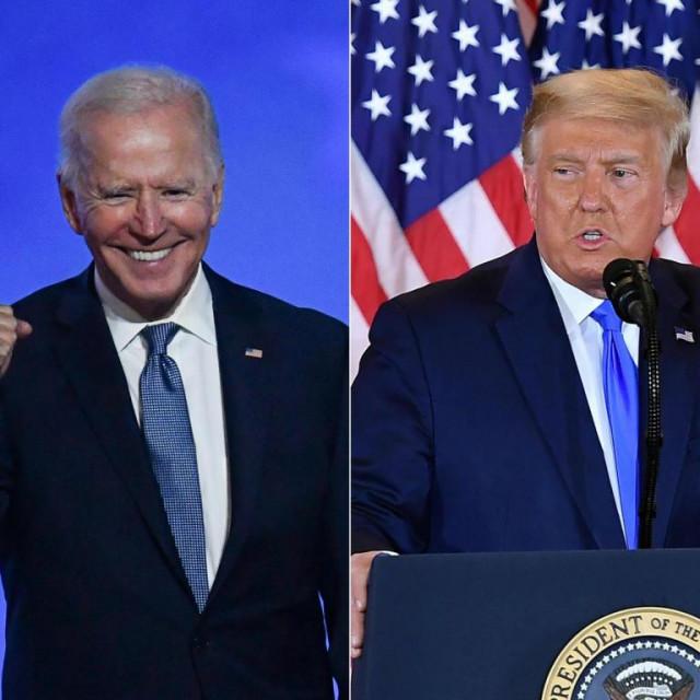Izbori u Americi, Biden i Trump
