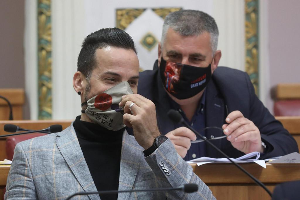 Marin Miletić i Miro Bulj u sabornici