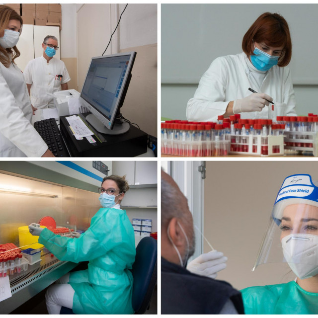 Ekipa za testiranje na Higijenskom ne staje od posla već mjesecima