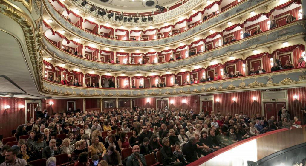 Baletni spektakl Orašar Petra Iljiča Čajkovskogkoji svakog prosinca puni teatre ove će godine izostati<br /> Vojko Bašić/CROPIX