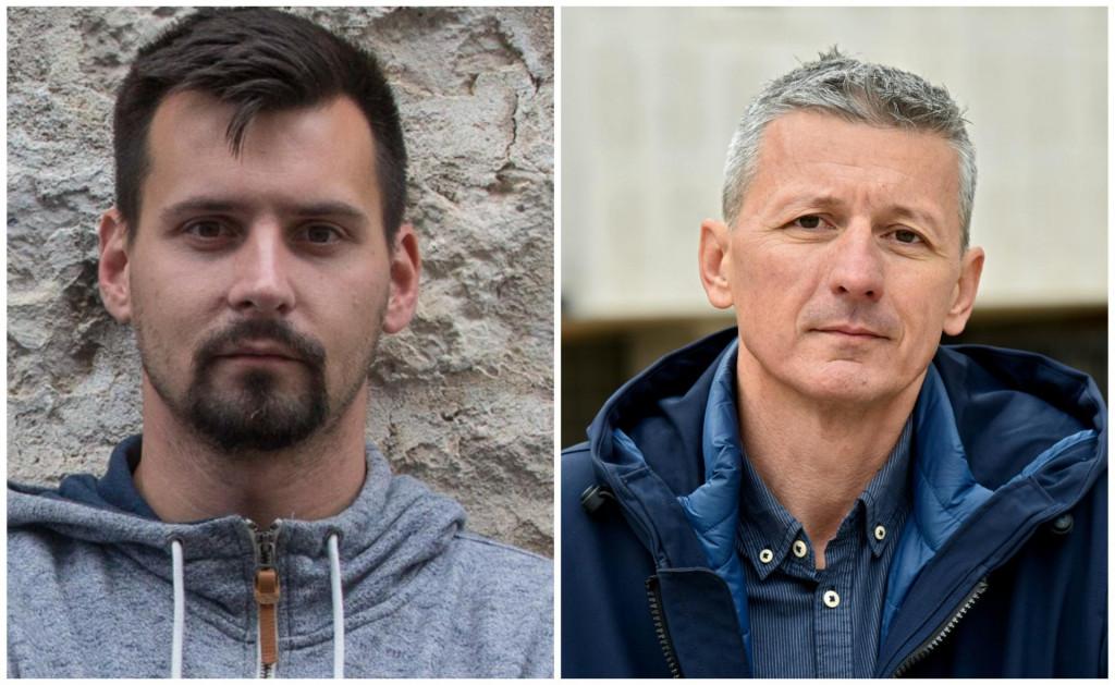 Bojan Ivošević i Jakov Prkić