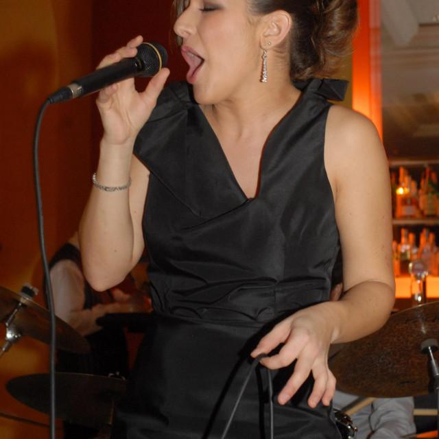 Thana Pavelic nastupila je 2009. u dubrovačkom hotelu Hilton<br /> Željko Tutnjević/CROPIX