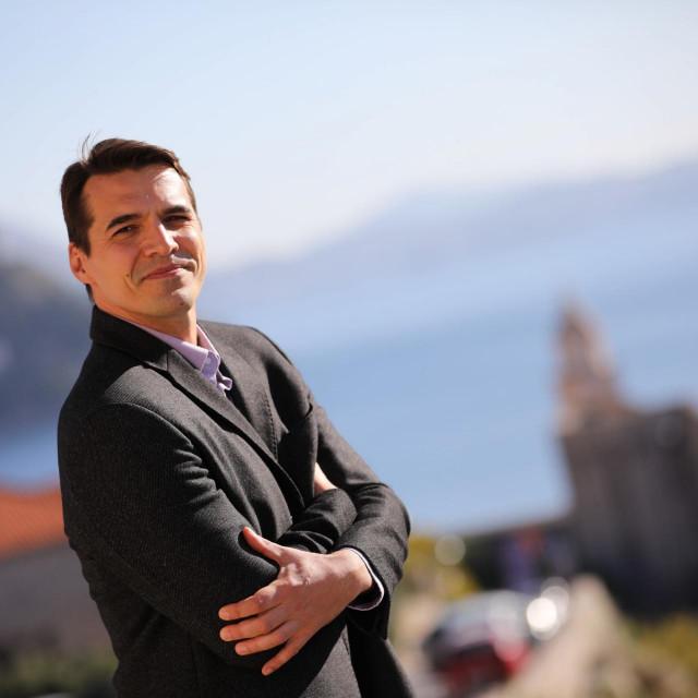 Jadran Barac, predsjednik gradskog SDP-a i kandidat za gradonacelnika Dubrovnika