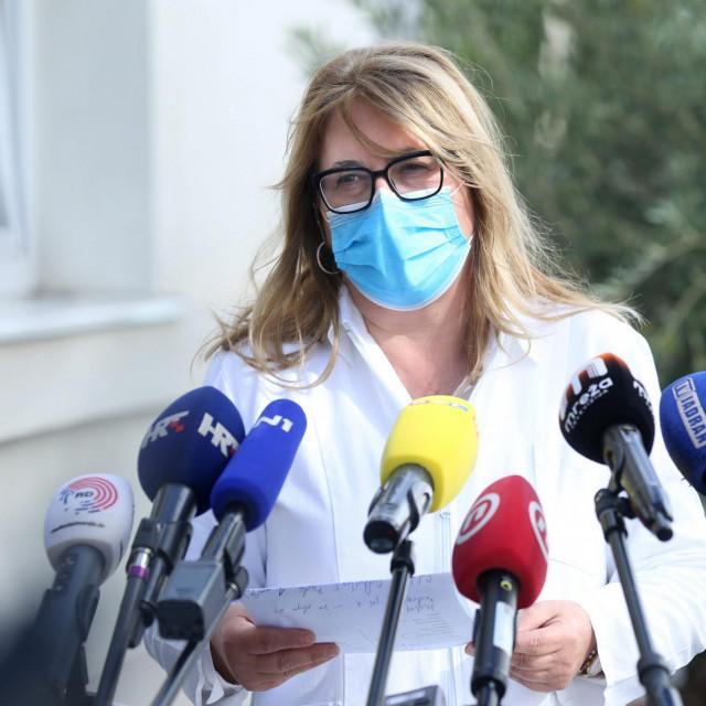 Dr. Željka Karin ravnateljica Nastavnog zavoda za javno zdravstvo Splitsko-dalmatinske županije
