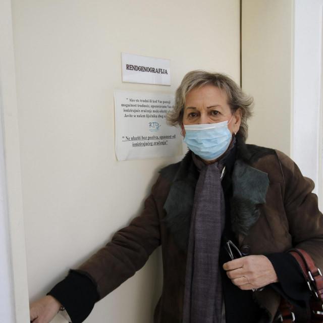 Ništa od snimanja rendgenom - Hloverka Novak-Srzić pred zatvorenim vratima
