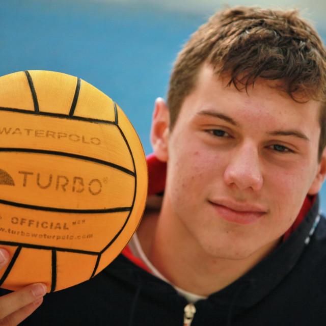 Patrik Kolak, 16-godišnji igrač Jug Adriatic osiguranja foto: Tonči Vlašić