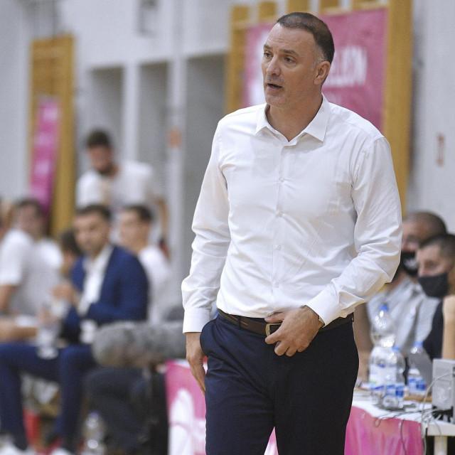 Trener reprezentacije Veljko Mršić<br />