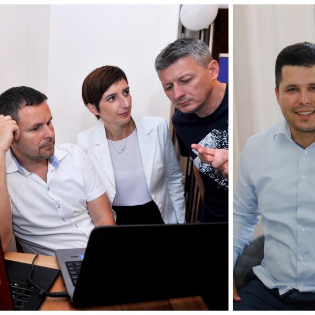Marijanu Puljak napustila su oba vijećnika s fotografije, Renato Čupić i Jakov Prkić, i sve je izvjesnije da će se naći u nekoj kombinaciji s vrgoračkim gradonačelnikom Antom Pranićem