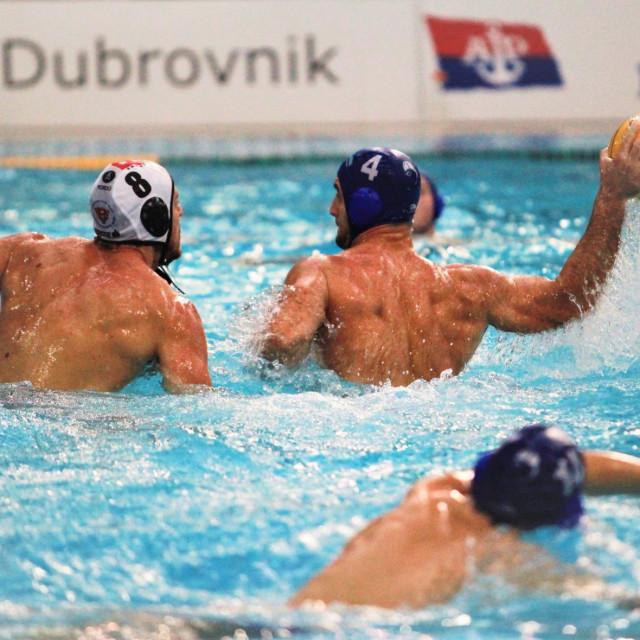 Dario Rakovac (Primorje EB) i Marin Ban (KPK) foto: Tonči Vlašić