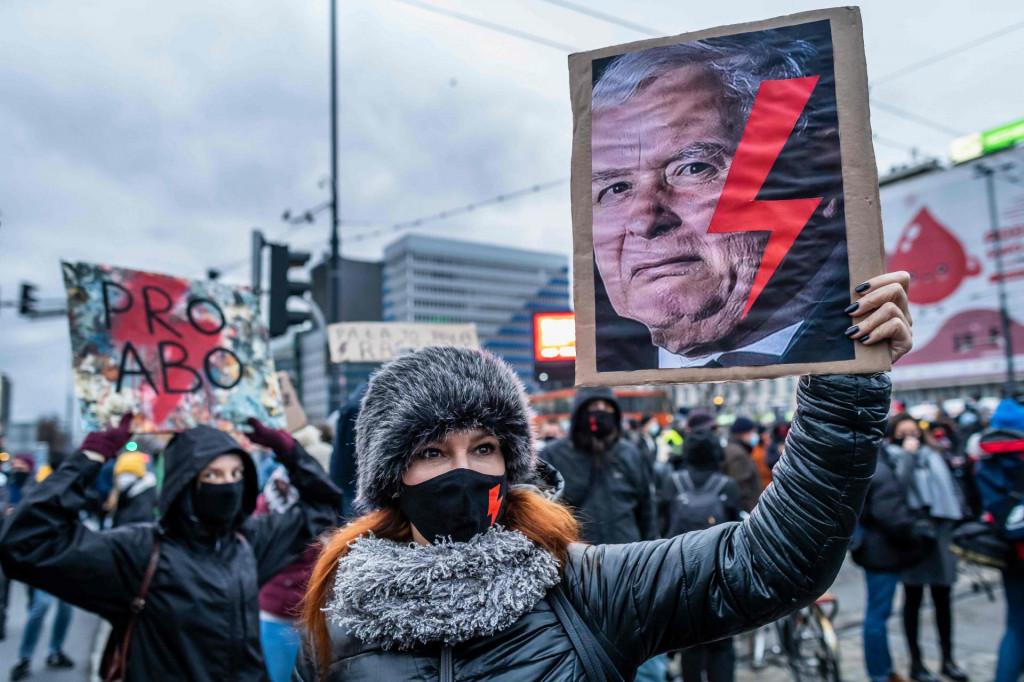 Prizor s prosvjeda na kojem se tražilo zakonsko pravo na izbor