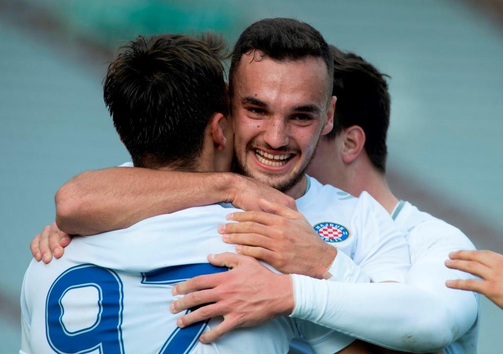Slavi Vicko Ševelj, kapetan Hajduka II foto: Paun Paunović / CROPIX<br />