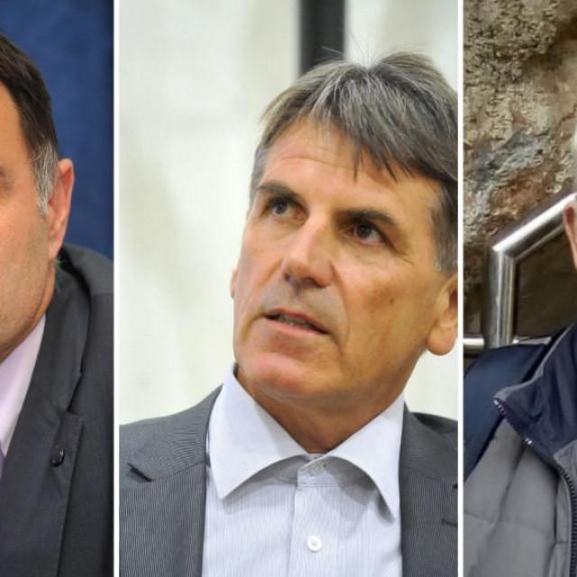Hrvoje Visković, Boris Babić, Željko Đerđ