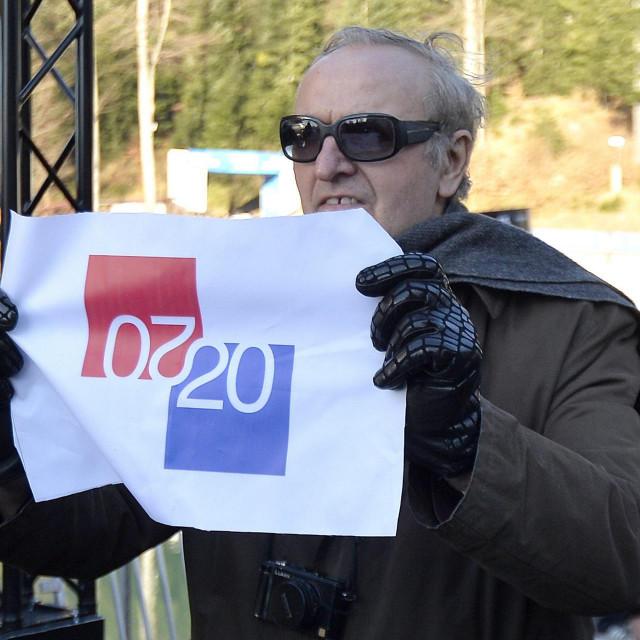 Boris Ljubičić javnost je upoznao sa svojim rješenjem na 'Snježnoj kraljici' početkom siječnja<br /> Damir Krajač/CROPIX
