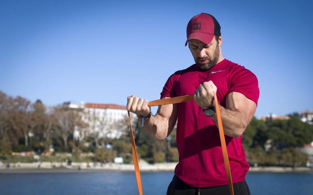 Fitness trener Toni Grginović