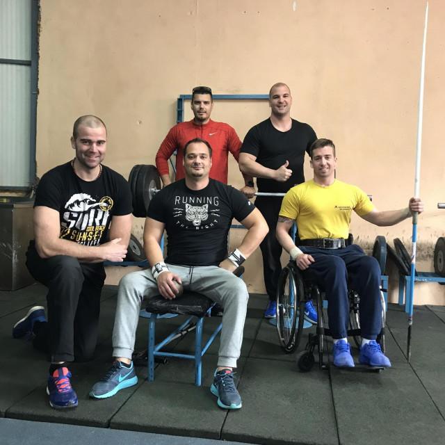 Paraatletičari Ask kluba Split