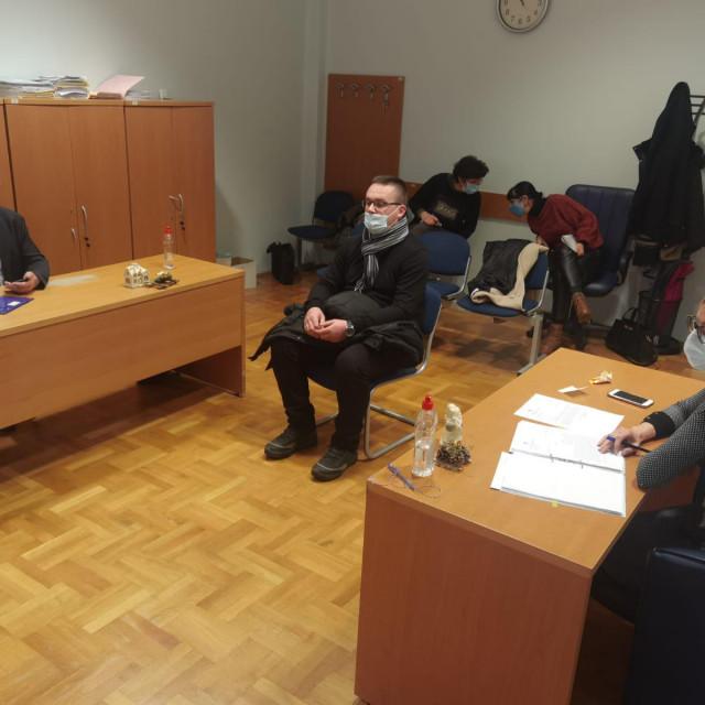 Don Tomislav Vlahović u sudnici
