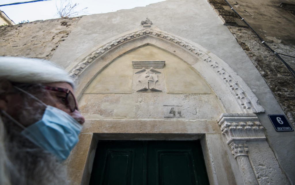 Gotički portal u Ulici Jurja Šižgorića