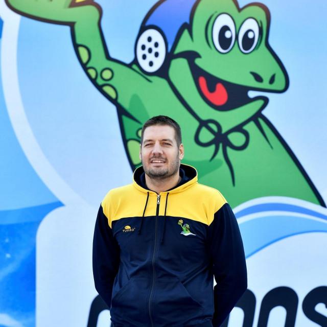 Andro Bušlje, Dubrovčanin, član zagrebačke Mladosti, najtrofejniji hrvatski reprezentativac foto:Ronald Goršić / CROPIX