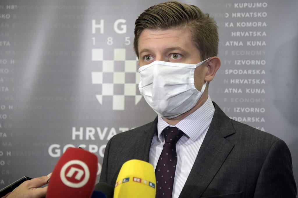 Ministar financija Zdravko Marić jedan je od troje primatelja otvorenoga pisma<br />