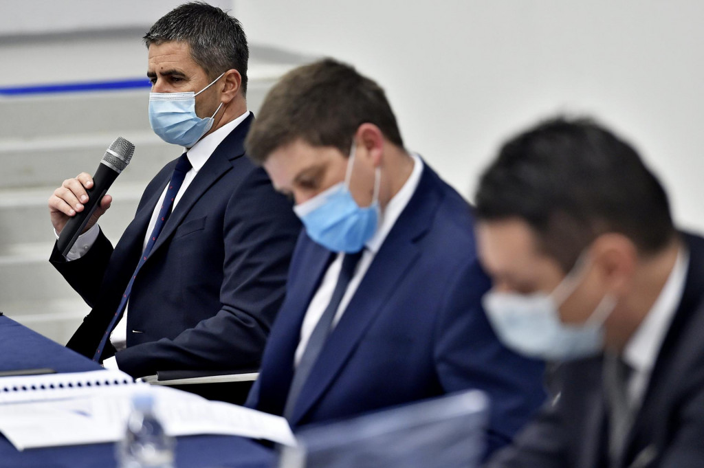 Vice Mihanović, Oleg Butković i Tomislav Petric<br />