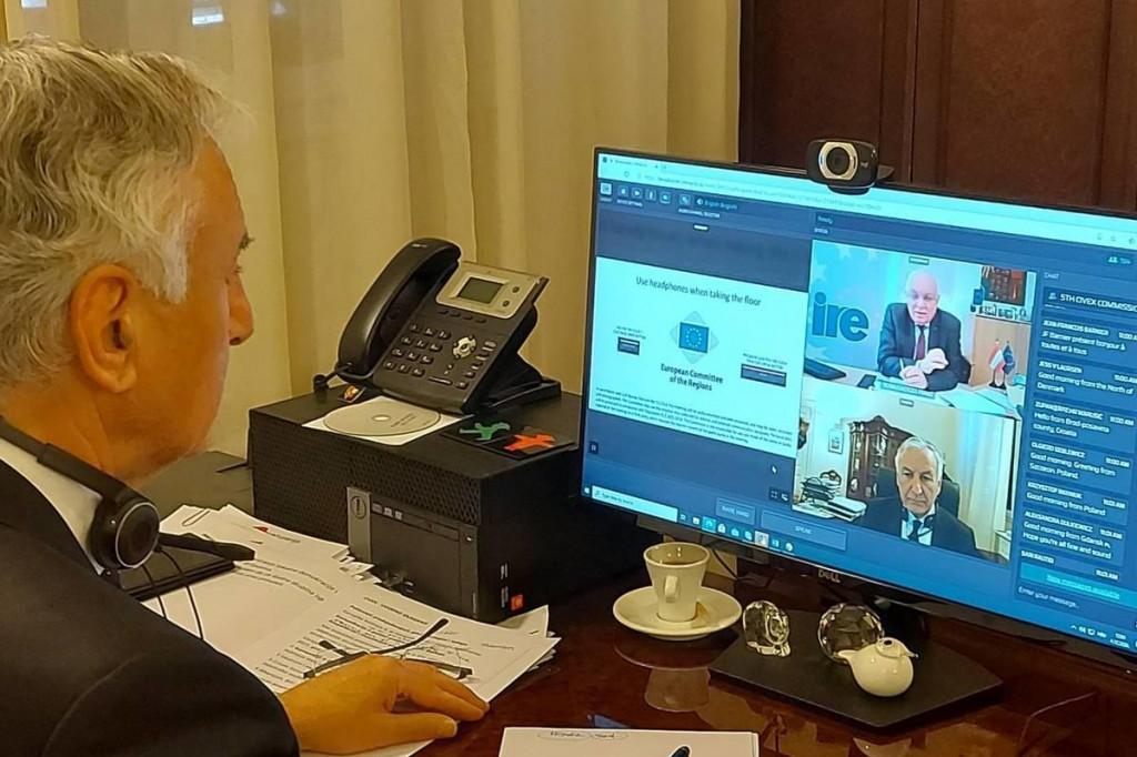 Dobroslavić sudjeluje u radu sastanka Povjerenstva za građanstvo, upravljanje, institucijske i vanjske poslove Europskog odbora regija