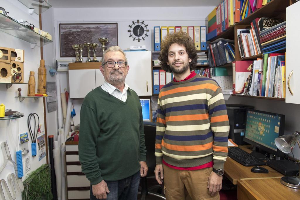 Ivica (lijevo) i Jadran Pivačić