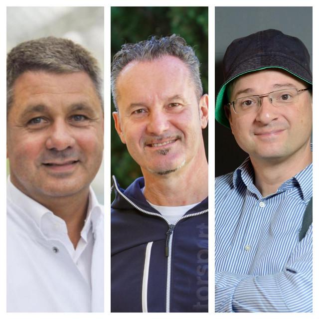 Andrej Trampuž, Igor Štagljar i Igor Rudan