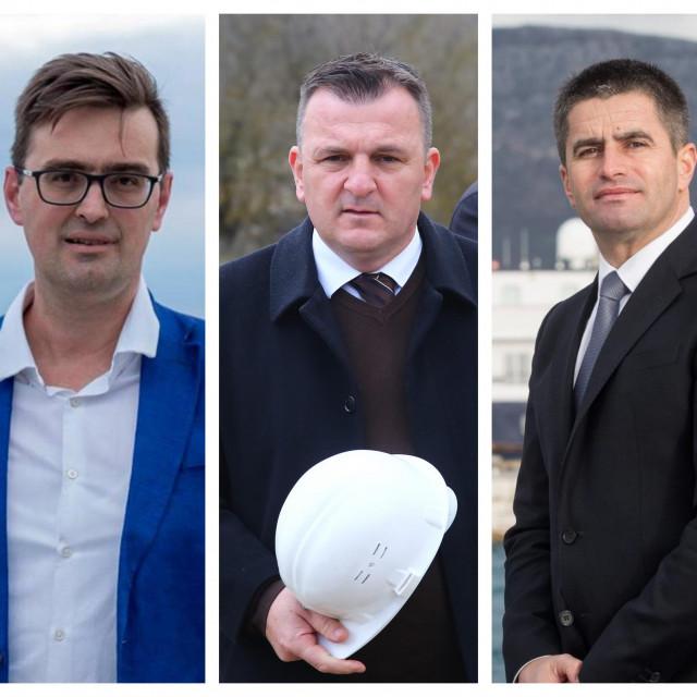 Dr. Krešimir Čaljkušić, Petar Škorić, Vice Mihanović
