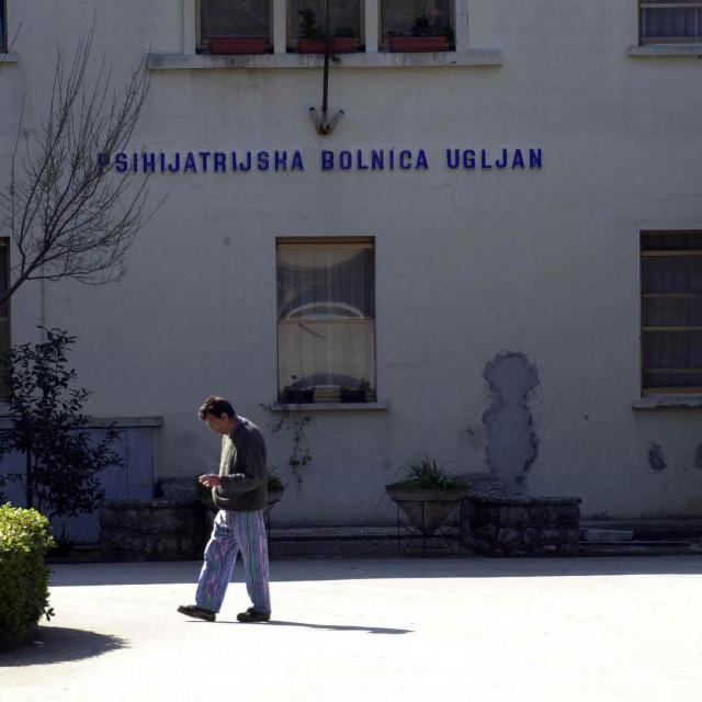 Psihijatrijska bolnica Ugljan prije energetske obnove