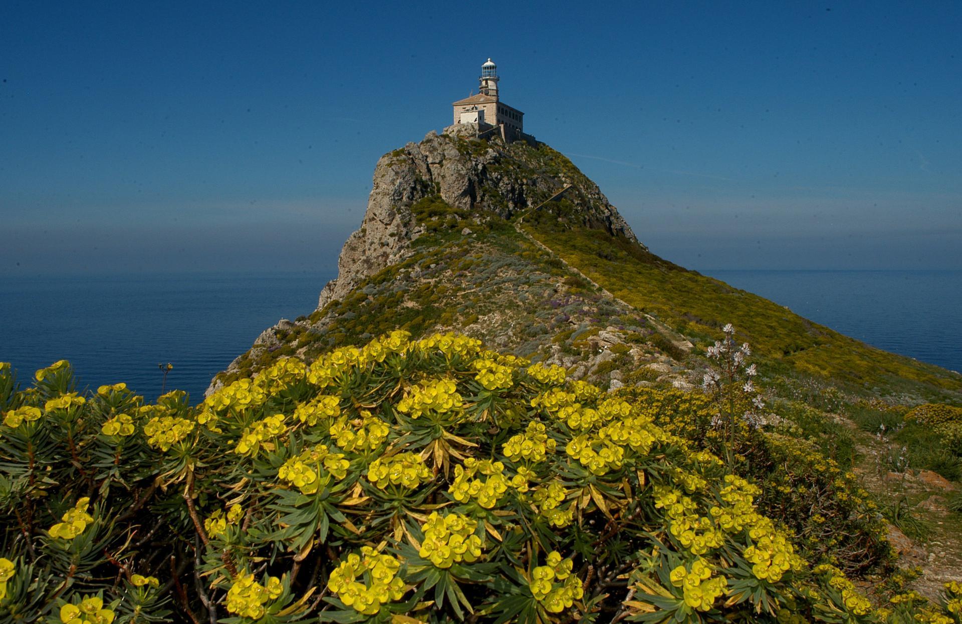 Palagruža lighthouse, Adriatic lighthouses, vacation on the lighthouse, www.zadarvillas.com