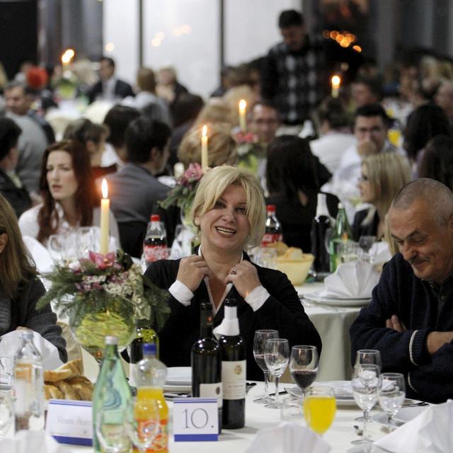 S jedne od ranije odtržanih donatorskih večera Zaklade biskup Josip Lang
