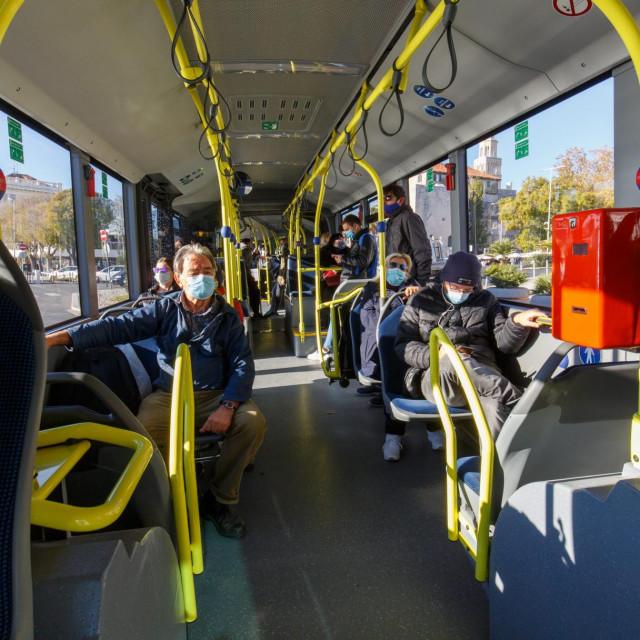 Broj putnika u javnom gradskom prijevozu preplovljen je u odnosu na prošlu godinu