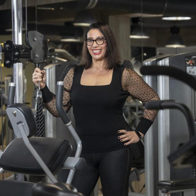 Ne bih više htjela mršavjeti, ali me sad čeka drugi posao: oblikovati tijelo i učvrstiti mišiće - kaže Zdravka<br />