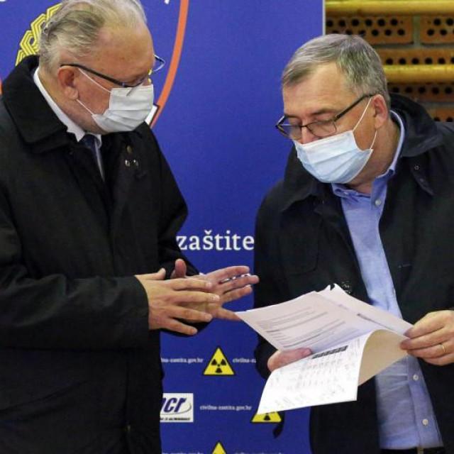 Davor Božinović i Krunoslav Capak