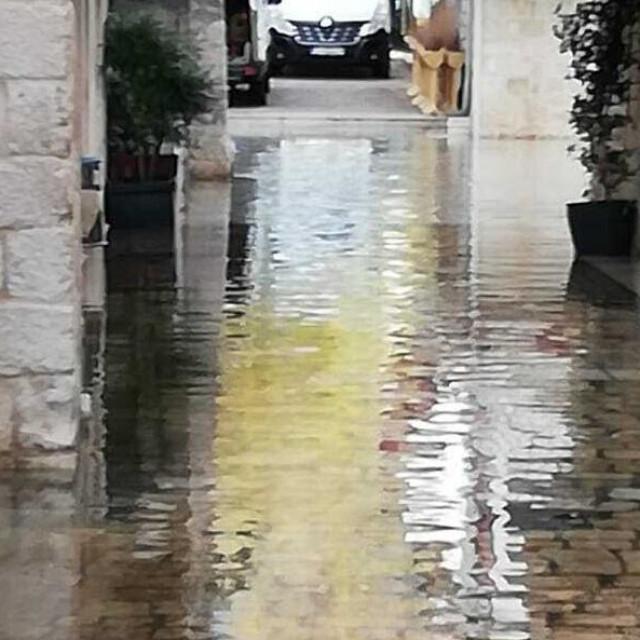 Poplava u Trogiru