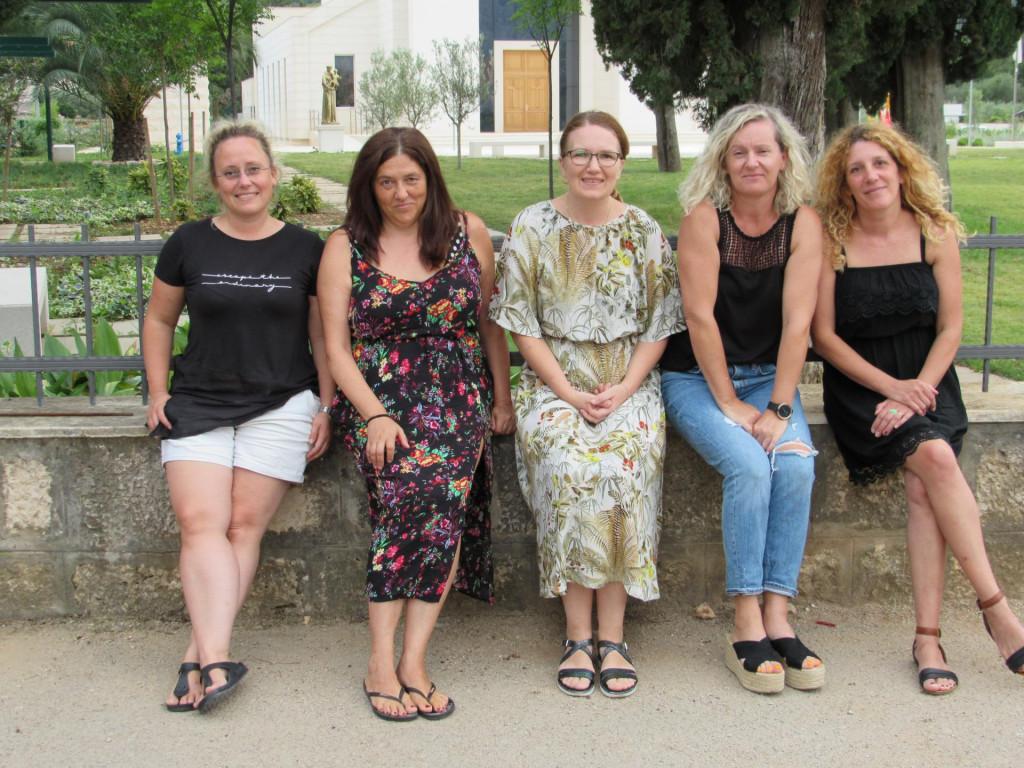 One su volonterke godine: Katarina, Claudia, Irena, Dalida i Anita