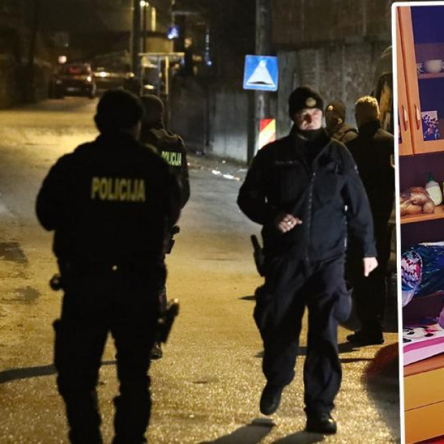 Napad na policajce u Zagrebu