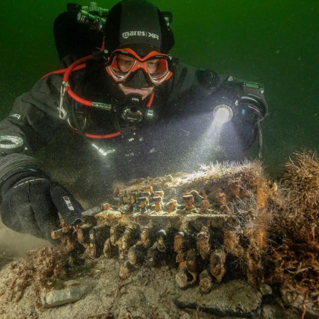 Enigma koja je pronađena na dnu Baltičkog mora