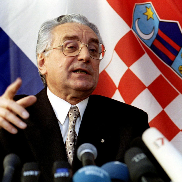 Prvi hrvatski predsjednik Franjo Tuđman