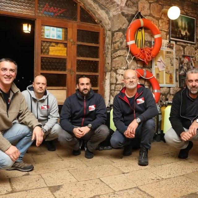 Maroje, Lukša, Antonio, Branimir i Vlaho razgovarali su s nama o Klubu i ronjenju