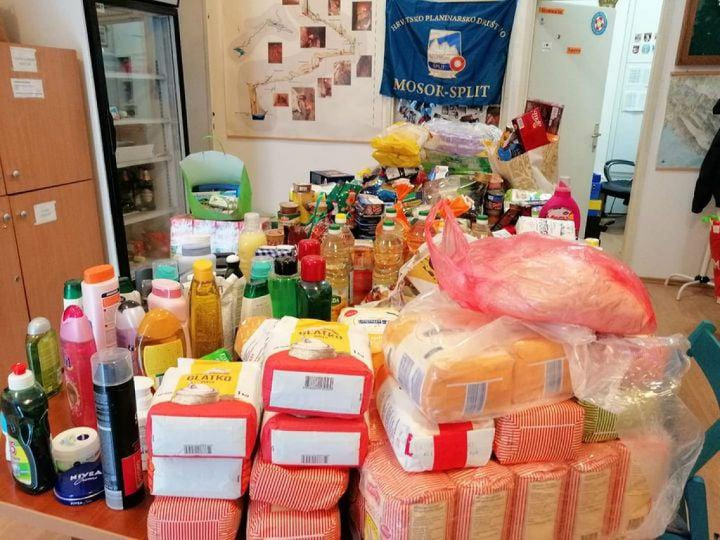 Prikupljene donacije za beskućnike