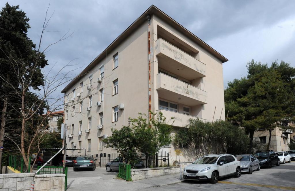 Zgrada na Bačvicama u kojoj je smješten splitski SDP