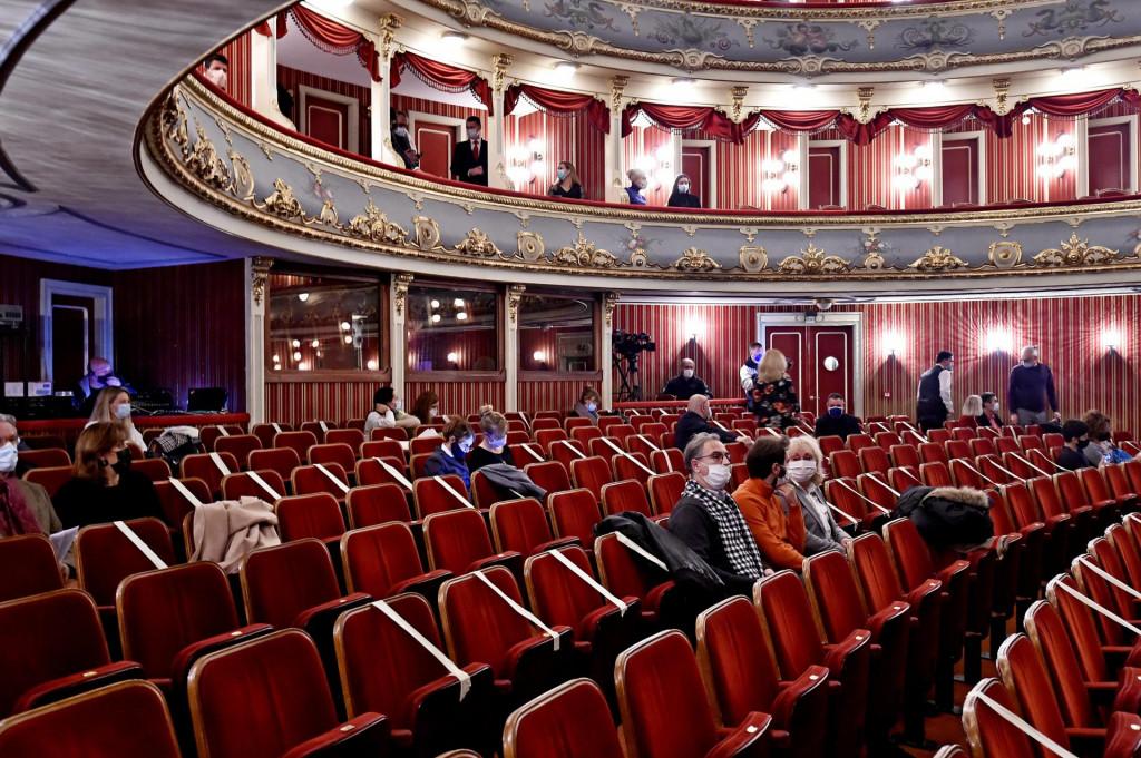 U publici je bilo 130 ljudi<br /> Nikola Vilić/CROPIX