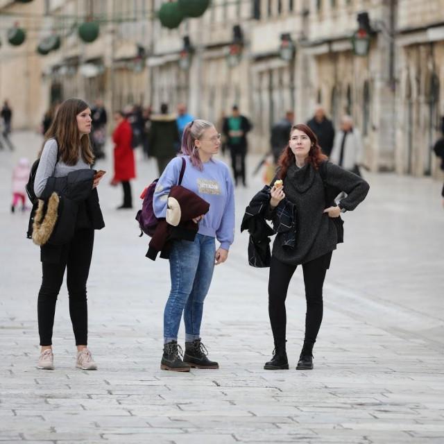 Špica druge subote u prosincu u Dubrovniku