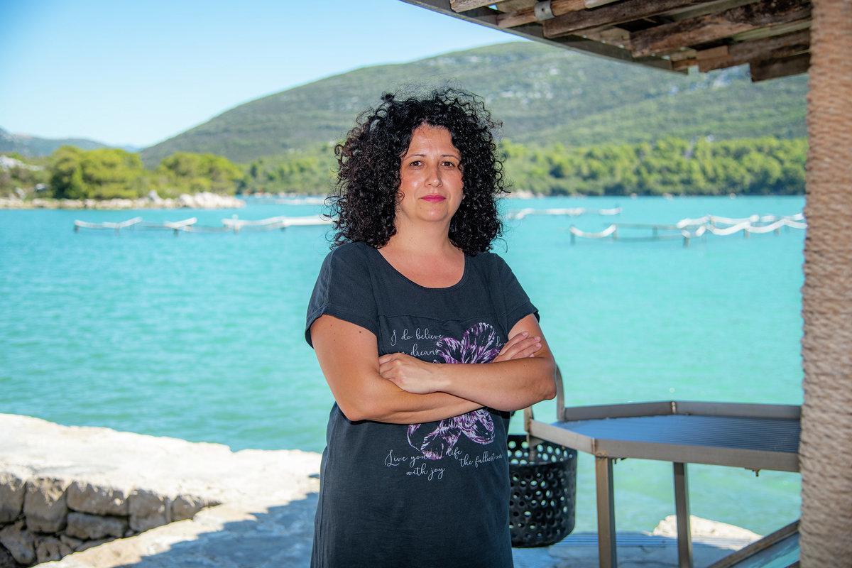 Marija Radić, predsjednica Udruge 'Stonski školjkari'