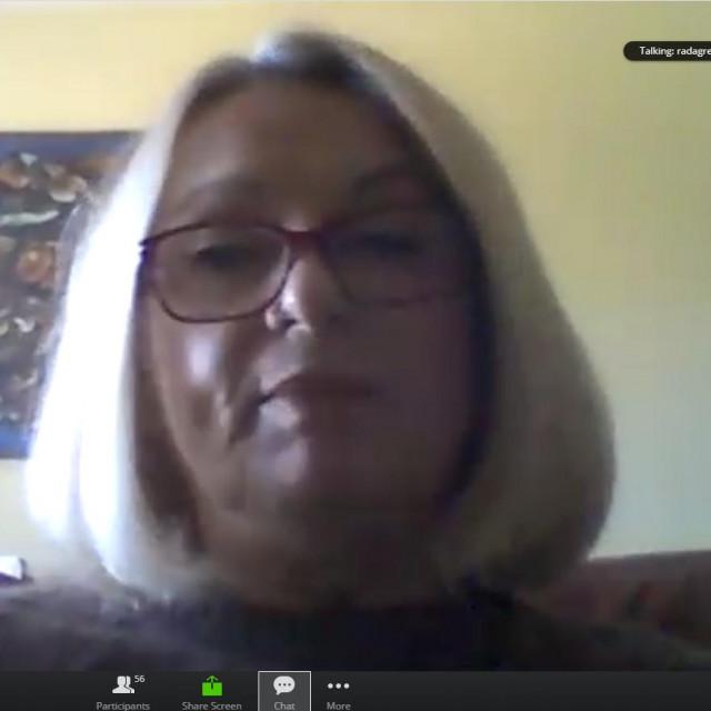 Online sjednica Županijske skupštine: vijećnica Radoslava Gregov
