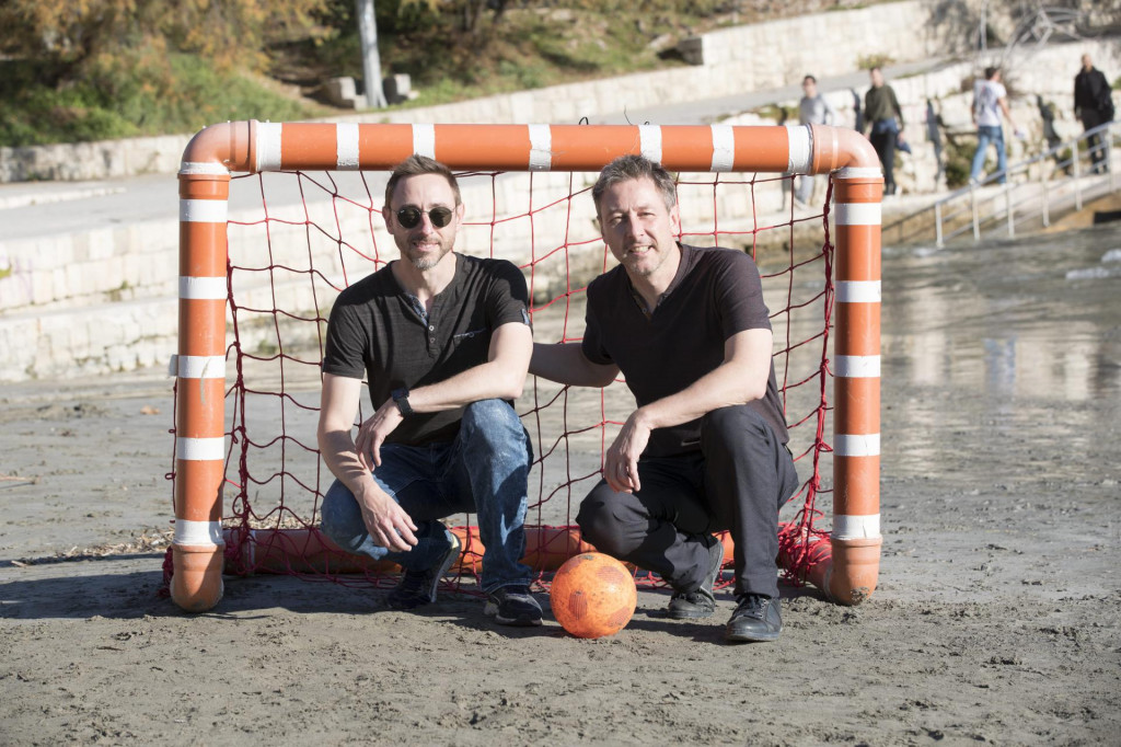 Patrice i Phillipe Sejalon na splitskim Bačvicama